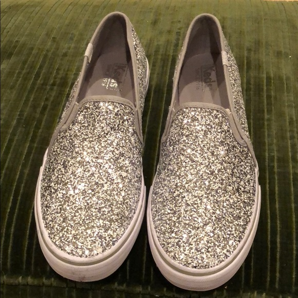 26a915787632 Keds Shoes - Keds double decker glitter slip-on sneakers NEW